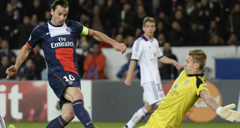 VIDEO: PSG frustrated in draw with Anderlecht