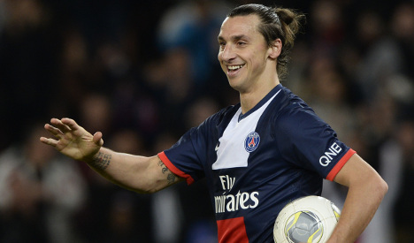 Ibra hat-trick as PSG tighten hold on Ligue 1