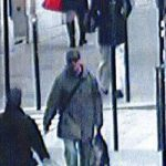 The suspect is also captured on CCTV walking towards the offices of Liberation on Monday.Photo: CCTV Ville de Paris