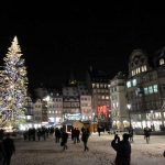 """<strong>STRASBOURG.</strong> This is the oldest """"marché de Noël"""" in France, dating back to the 16th century. Set in the quaint, medieval old town, it has 300 stalls, making it one of the largest markets in Europe. The heart of the festivities is Place de la Cathédrale, in front of the gothic cathedral. Each year another country is invited to set up a market representing their Christmas traditions. This year it's Luxembourg's turn. Open until December 24th. Photo: NotFrancoisFlickr"""