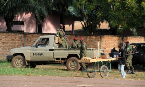 French troops killed armed men in CAR: army