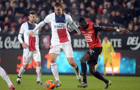 PSG charge rolls on with Rennes victory