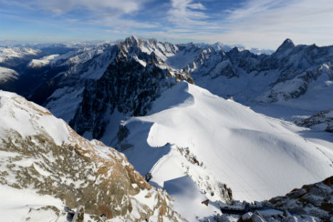Father killed, son survives in Alps tragedy