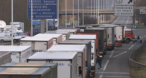 French drivers spend two days a year in traffic jams