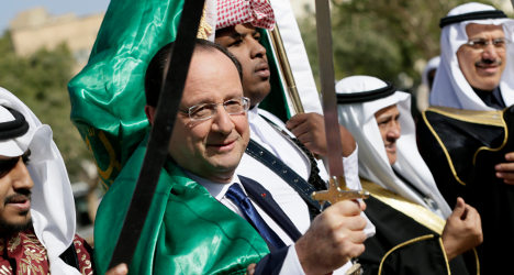 'We'll give you what you need': Hollande to Saudis
