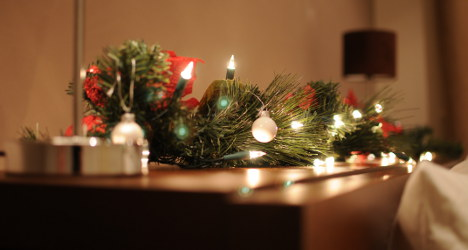 Man killed 'in row over Christmas decorations'