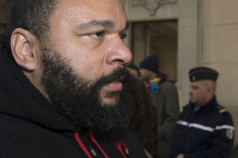 French comic Dieudonne probed for racial hatred