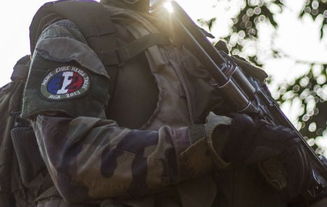 French army to suspend Nazi slogan soldier