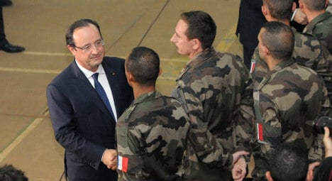 French action in CAR is 'dangerous': Hollande