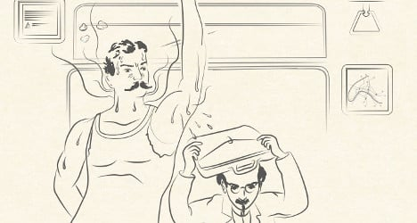 Paris releases new rule book on Metro manners