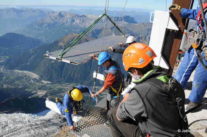 IN IMAGES: Take a 'Step into the Void' high up in the French Alps