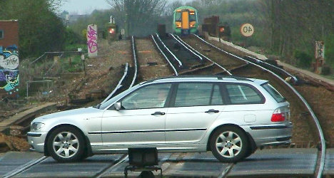 Driver reports himself 'lost' on train tracks