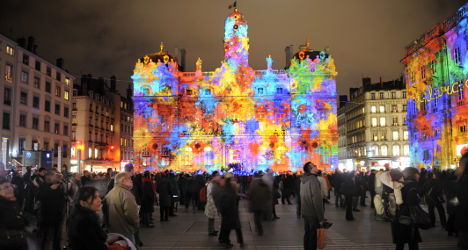 Lyon holds its breath for annual Festival of Lights