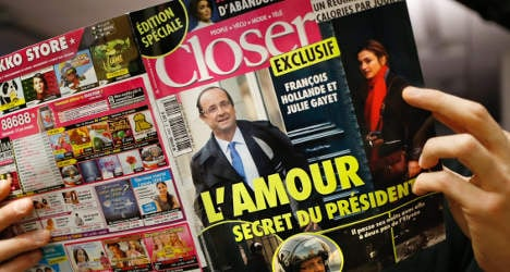 'Hollande's private life is not an issue for France'