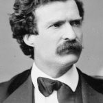 """Mark Twain: Americans are as partial to French bashing as the British. American author Mark Twain, who travelled through France had no qualms about expressing his loathing of the French. Although his early works depict France as a utopia, his later writings certainly do not. The French, according to Twain, are """"filthy-minded"""" and the """"disparaged and depreciated link between man and the Simian."""" France has """"neither winter nor summer nor morals"""" and has """"usually been governed by prostitutes"""".Photo: Wikicommons"""