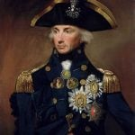"""Nelson: No one quite liked bashing the French – literally and verbally– as much as Admiral Lord Nelson. Quoted on January 11th 1798, a few years before the fateful Battle of Trafalgar, the British officer was quoted as saying: """"There is no way of dealing with the Frenchman but to knock him down – to be civil to them is to be laughed at. They are enemies!"""" He was also quoted as saying: """"Down with the damned French villains! My blood boils at the name of a Frenchman! Down, down with the French!""""  Photo: Wikicommons"""