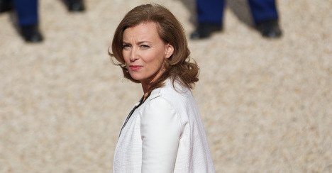 'First lady' Trierweiler heads off to India