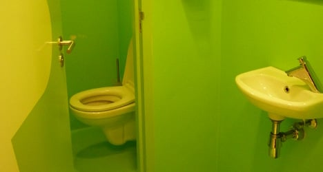 Frenchwoman spends New Year locked in toilet