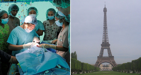 'Eiffel Tower' nose surgery booms in China