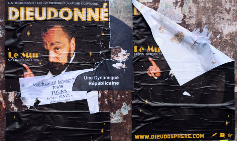 New setback for French 'anti-Semitic' comic