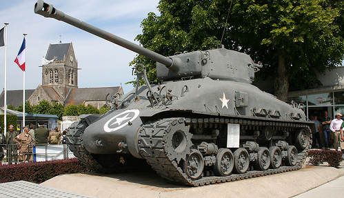 D-Day museum chief 'hides' tank in dad's barn
