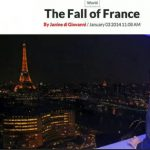 Fall of France: The latest barbs thrown at France were from American journalist Janine di Giovanni seem to have caused the most uproar, well, since Nelson. Most of her views on the unhealthy state of France were chewed up by the French media and spat back at here. She was ridiculed for saying milk in Paris cost $4 for half a litre and that nappies in France were free. Huffington Post editor Anne Sinclair sugested she had had too much champagne over Christmas.Photo: Newsweek