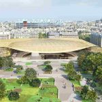Les Halles: In the latter half of the year, the redevelopment of Les Halles will open a draping canopy to shelter the shopping center. The project will cost roughly €1 million and aims to be a welcoming urban environment, blending retail shops with 3,870 square metres of playgrounds for children, and even more space for lawns and benches. Final completion of the Les Halles project is aimed for 2016.  Photo: Maire de Paris