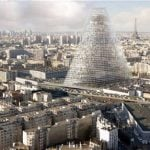 Tour de Triangle: In the next few years, this new controversial skyscraper, reaching 180 meters high will offer a panoramic view from Paris' south west side, at the Porte de Versailles. Architects hope the building's trapezoidal structure and triangle shape will earn its place on the long list of popular Parisian monuments.