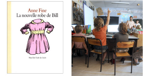 French 'extremists' target LGBT-themed kids books
