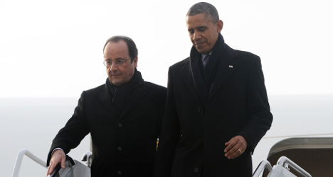 Hollande begins US visit with trip to Monticello
