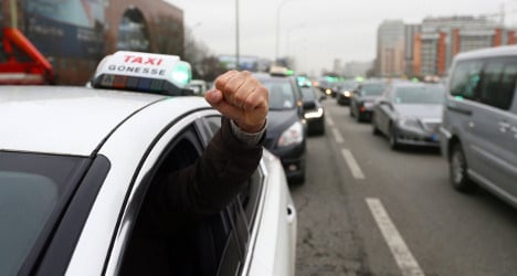 Paris taxi wars: 'Not all French cabbies are rude'