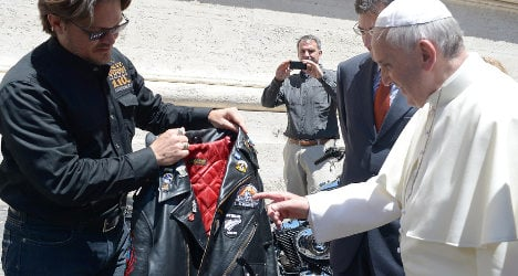 Pope's Harley fetches €241K at Paris auction