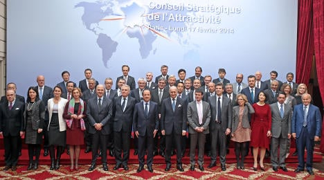 'France is not afraid to open up to the world'