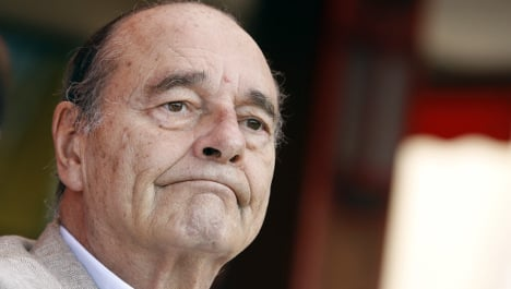 Jacques Chirac home after brief hospital stay