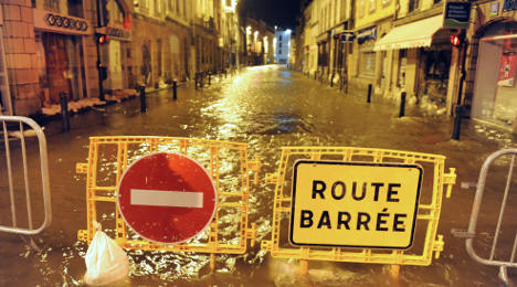 Storms latest: Brittany on red alert for flooding