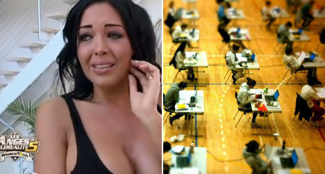 Too much reality TV 'harms pupils' grades'