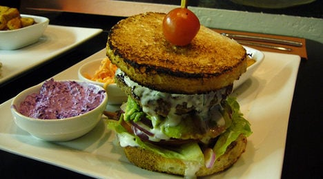 Burgers rule traditional French restaurant menus