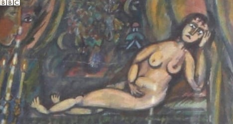 Brit blasts French arts body over fake Chagall