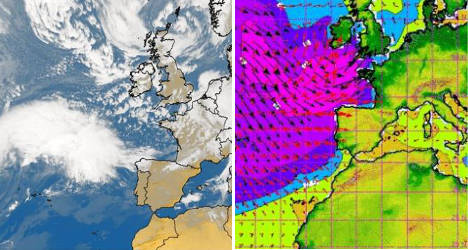 Meet 'Ulla', the new storm heading for Brittany