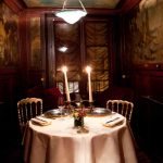 <strong>1.Lapérouse:</strong> This enchanting restaurant, located in a 17th century townhouse is decorated with antique red booths, perfect for cozying up to your lover. Address: 51 quai des Grands Augustins. Website: http://www.laperouse.com/