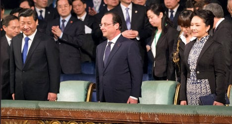 Chinese leader expresses love for French culture