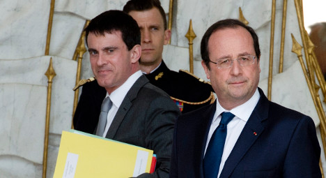 Hollande names new PM as government resigns