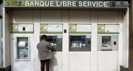 Frenchman launches poo protest against banks