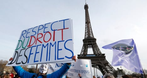 'A third of French women are victims of stalking'