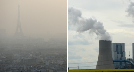 Is Germany to blame for the Paris smog?