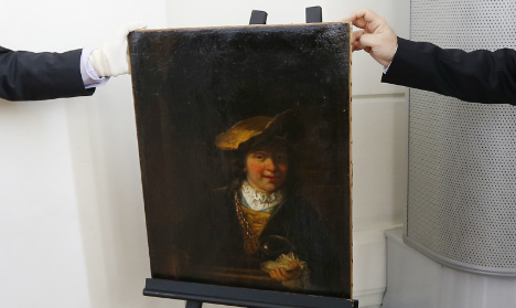 Man admits to French museum Rembrandt theft
