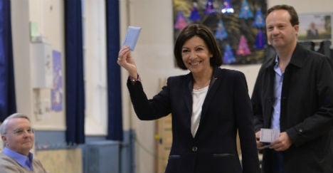 French vote in second round of local elections