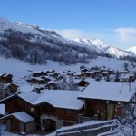 The ski chalet is located in a picturesque village on its very own plot of land of over 1000m2. The chalet offers great views over the village and towards the mountains. Not a bad spot to spend Christmas and New Year. Or in summer you'll come here to walk or mountain bike.Photo: Leggett Immobilier