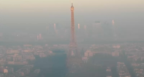 Swathes of France on alert over air pollution