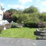 Imagine letting the kids run around this garden, while you keep an eye on the BBQ. Although set in huge grounds the property is at the centre of a village, just a short walk from the shops. It would work as a huge family home or offer the owner a chance to run a business from home.Photo: Leggett Immobilier